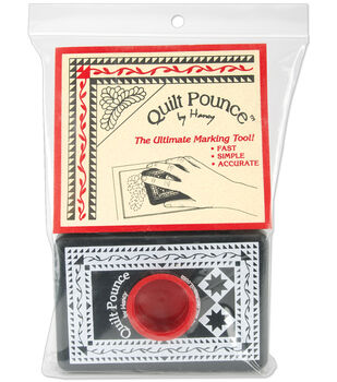 Quilt Pounce Pad With Powder