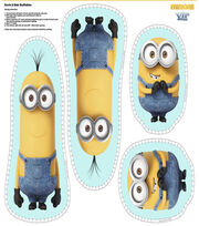 Minions Kevin Bob Stuffable Panels Cotton Fabric, , hi-res