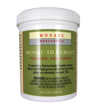 Mosaic Tile Grout 8 Ounces-White