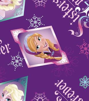 Disney Frozen Sisters Fleece Fabric