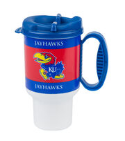 University of Kansas NCAA 20oz Travel Mug, , hi-res