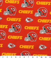 Kansas City Chiefs NFL Cotton Fabric by Fabric Traditions, , hi-res