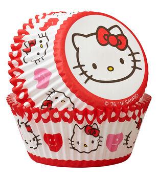 Wilton® Standard Baking Cups-Hello Kitty 50/Pkg