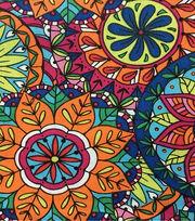 Keepsake Calico™ Cotton Fabric-Coloring Book Mandala, , hi-res