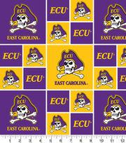 East Carolina University NCAA Block Cotton Fabric, , hi-res