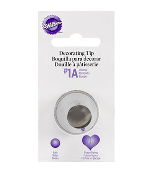 Wilton® Decorating Tip-1A Round Carded