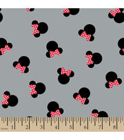 Disney® Minnie Mouse Heads Cotton Fabric, , hi-res