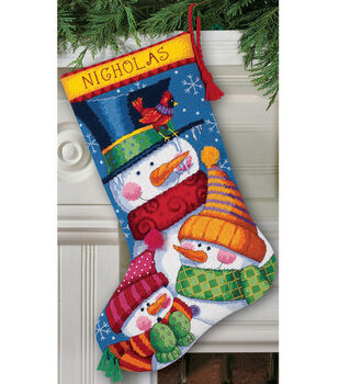 "Dimensions® 16"" Needlepoint Kit-Freezin' Season"