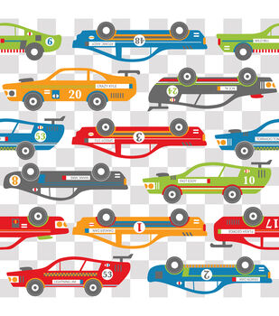 Wall Pops Rally Racers Blox Decals, 8 Piece Set