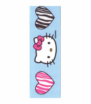 Hello Kitty Zebra Hearts Ribbon