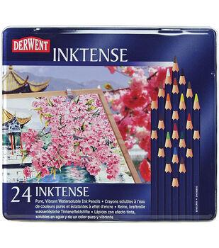 Derwent Inktense Pencil Set 24/Tin