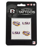 Louisiana State University NCAA Peel & Stick Tattoos, , hi-res