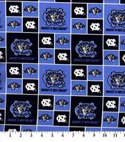 University of North Carolina NCAA  Cotton Fabric, , hi-res
