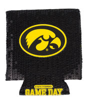University of Iowa NCAA Sequin Koozie, , hi-res