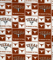 University of Texas NCAA  Cotton Fabric, , hi-res