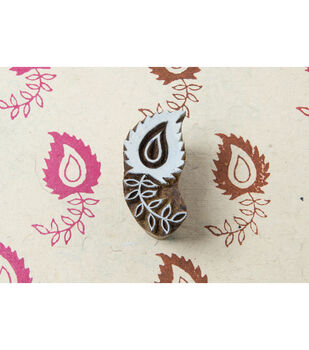 Blockwallah Block Stamp-Paisley Pattern