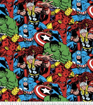 Marvel Comic Pack Fleece Fabric