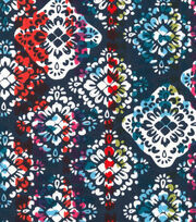 Keepsake Calico™ Cotton Fabric-Tropical Bright Medallion, , hi-res