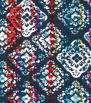 Keepsake Calico™ Cotton Fabric-Tropical Bright Medallion, , hi-res