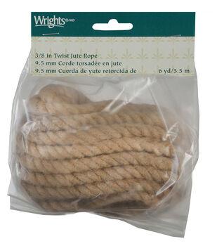 Twist Jute Rope Natural 6 Yds