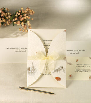 Wilton® Wedding Invitation Kit-Pressed Floral