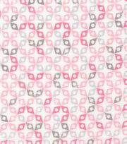 Cloud 9 Premium Cotton Fabric-Dolittles Geo Pink, , hi-res