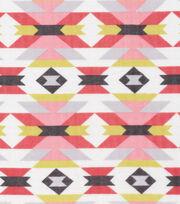 Cloud 9 Organic Cotton Double Gauze Fabric-Aztec Red, , hi-res