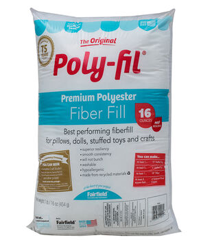 Poly-Fil® Premium Fiber Fill 16 ounce Bag