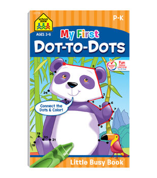 My First Dot to Dots  Little Busy Book