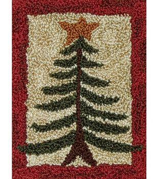 Rachel's of Greenfield Punch Needle Kit Pine Tree