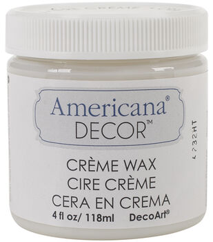 DecoArt Americana Decor Creme Wax 4oz