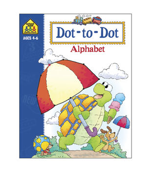 Activity Workbooks 32 Pages-Dot To Dot Alphabet Ages 4-6
