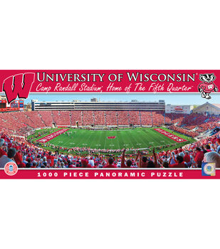 University of Wisconsin NCAA Master Pieces  Panoramic Puzzle
