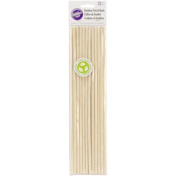Wilton® Bamboo Dowel Rods 12pk