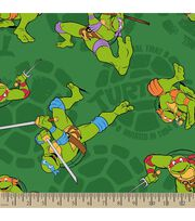 Teenage Mutant Ninja Turtles Print Fabric-1984, , hi-res