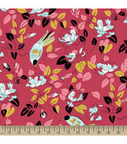 Premium Cotton Fabric-Springmaid® Marcelline Bird Floral, , hi-res