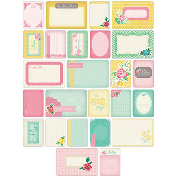 Project Life Themed Cards 40/Pkg-Mom