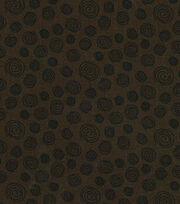Keepsake Calico™ Cotton Fabric-Brown Circles, , hi-res