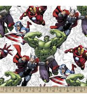 Marvel's The Avengers Print Fabric, , hi-res