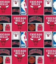 Chicago Bulls NBA  Cotton Fabric, , hi-res