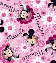 Minnie Face Toss Satin, , hi-res