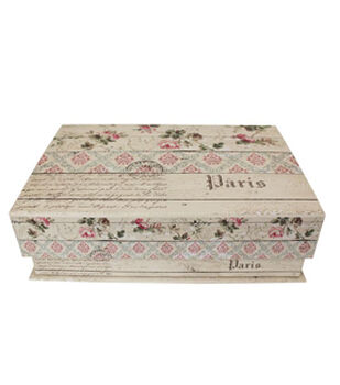 Medium Tab Boxes-Weathed Vintage