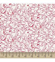 Premium Cotton Fabric-Springmaid® Marcelline Line Floral, , hi-res