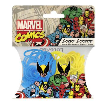 Forever Collectibles Logo Loomz Marvel Comics Wolverine