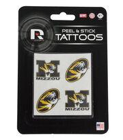 University of Missouri NCAA Peel & Stick Tattoos, , hi-res