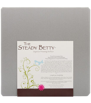 "Steady Betty 16""X16""-Gray"