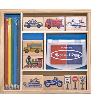Melissa & Doug Vehicle Stamp Set