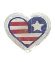 Sea To Shining Sea LED Gel Cling-Patriotic Heart, , hi-res