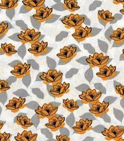 Keepsake Calico™ Cotton Fabric-Sunshine Yellow Tulips, , hi-res