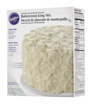Wilton® Creamy White Buttercream Icing Mix